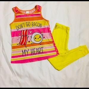 Other - Super Cute Girls Pajama Set. Size 10/12